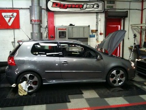 More-BHP Custom Remap K04 Golf TFSI on the Dyno at Awesome