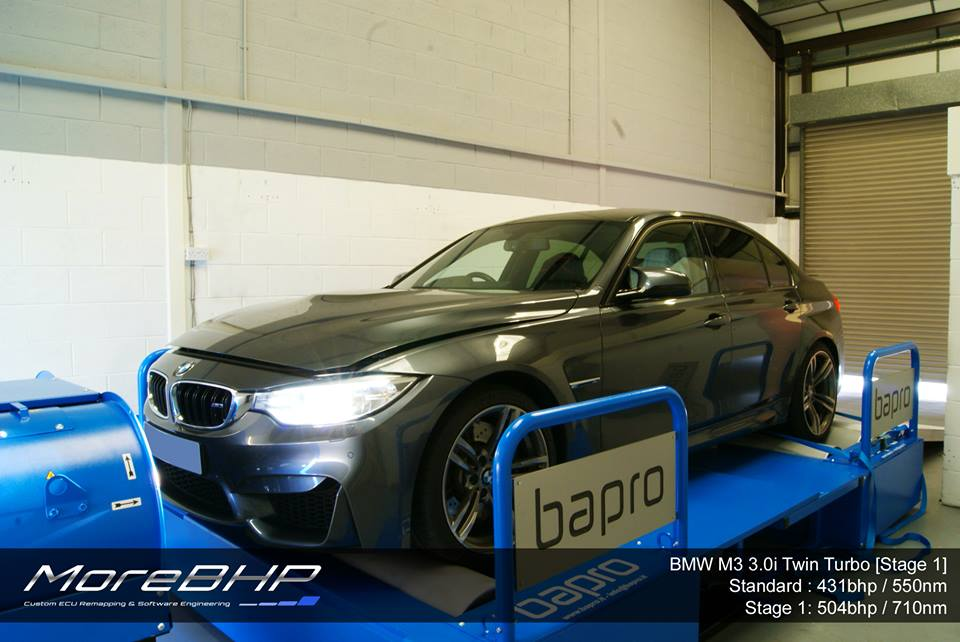 M3 M4 Custom ECU Remap