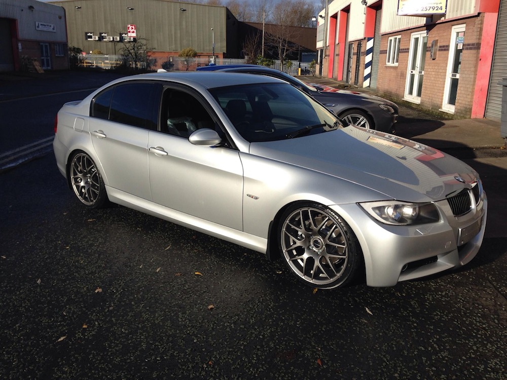 E90 330d with a Hybrid Turbo and Stage 3 Remap at MoreBHP