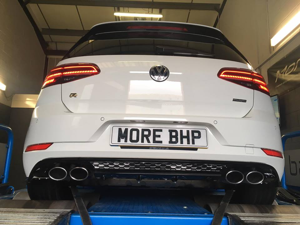 MQB EA888 VW Golf MK7 R Rolling Road Remap at MoreBHP